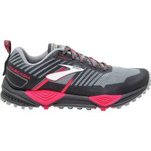 ブルックス レディース ランニング・ウォーキング シューズ・靴【Cascadia 13 Trail Running Shoe】Grey/Grey/Pink