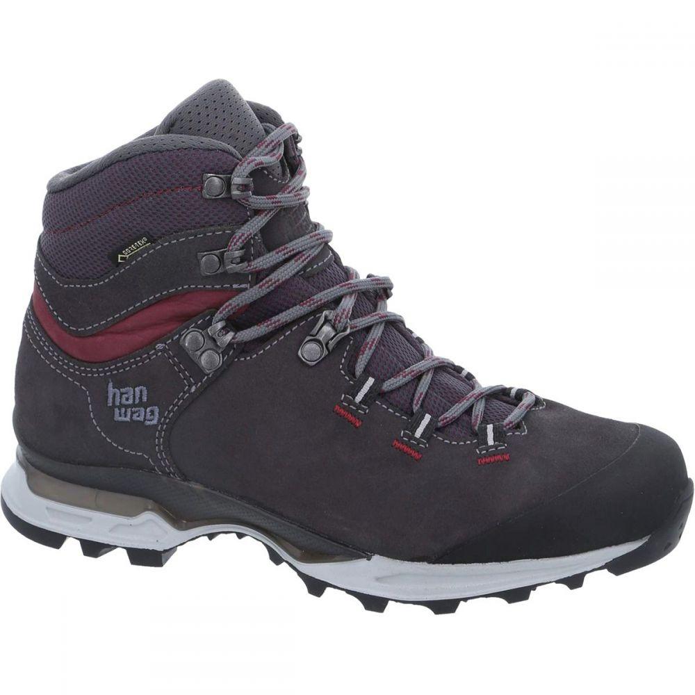 ハンワグ レディース ハイキング・登山 シューズ・靴Asphalt/Dark Garnet