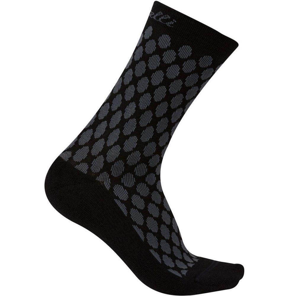 カステリ レディース 自転車【Sfida 13 Sock】Anthracite/Black