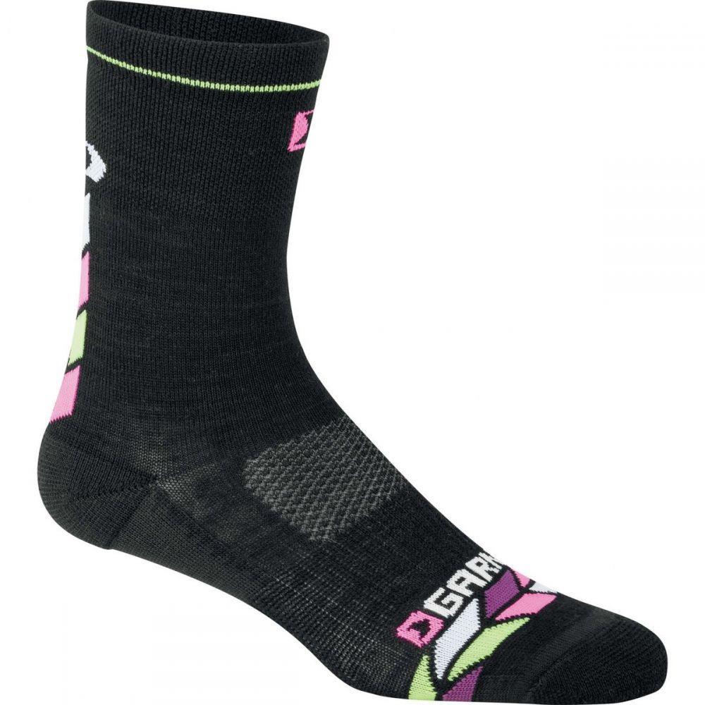 ルイガノ レディース 自転車【Merino 30 Socks】Black/Pink/Purple