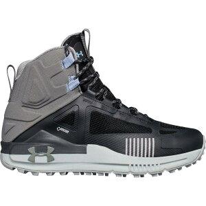 アンダーアーマー Under Armour レディース ハイキング・登山 シューズ・靴【Verge 2.0 Mid GTX Hiking Boot】Anthracite/Clay Green/Clay Green
