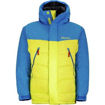 マーモット Marmot メンズ アウター ダウン・中綿ジャケット【8000M Down Parkas】Acid Yellow/Cobalt Blue