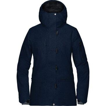 ノローナ Norrona レディース スキー・スノーボード アウター【Roldal Gore - Tex Insulated Jacket】Indigo Night