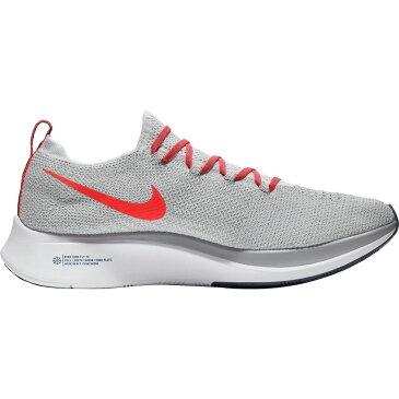 ナイキ Nike メンズ ランニング・ウォーキング シューズ・靴【Zoom Fly Flyknit Running Shoes】Pure Platinum/Bright Crimson