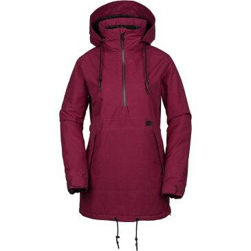 ボルコム Volcom レディース スキー・スノーボード アウター【Fern Insulated Gore Pullover Jacket】Magenta