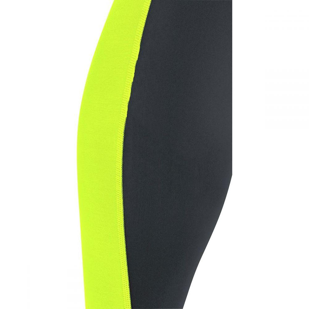 ゴアウェア Gore Wear メンズ 自転車 ボトムス・パンツ【C3 Thermo Bib Tights+s】Black/Neon Yellow