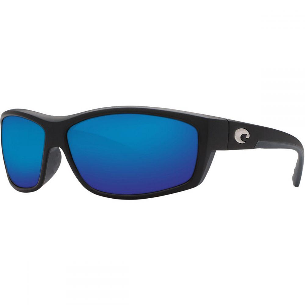 コスタ Costa メンズ メガネ・サングラス【Saltbreak 580G Polarized Sunglasses】Black Blue Mirror