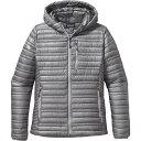 パタゴニア Patagonia レディース アウター ジャケット【Ultralight Down Hooded Jacket】Feather Grey
