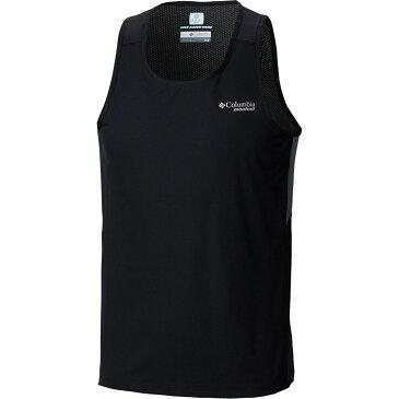 コロンビア Columbia メンズ ランニング・ウォーキング トップス【Titan Ultra Running Tank Tops】Black/Graphite