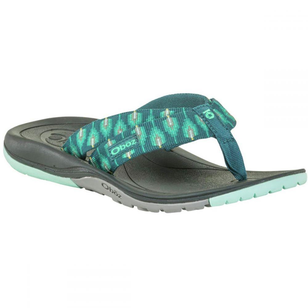 オボズ Oboz レディース シューズ・靴 ビーチサンダル【Selway Flip Flop】Teal/Aqua