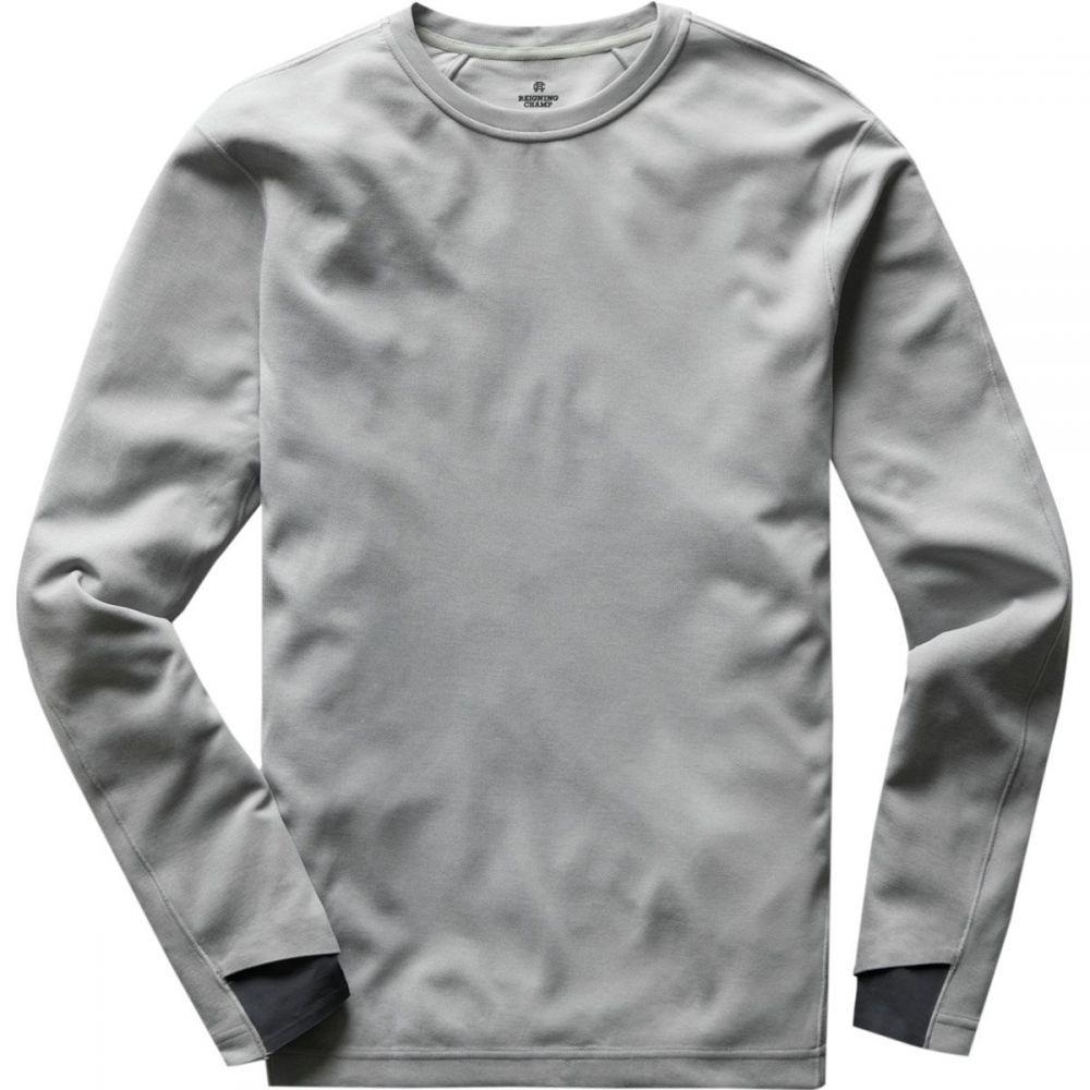 レイニングチャンプ Reigning Champ メンズ トップス 長袖Tシャツ【Deltapeak 165 Long - Sleeve T - Shirts】H. Grey