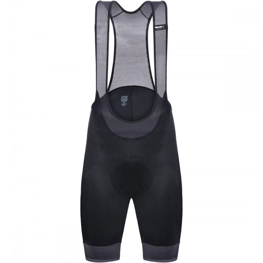 サンティーニ Santini メンズ 自転車 ボトムス・パンツ【Scatto Bib Shorts】Black