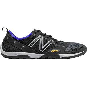 ニューバランス New Balance メンズ ランニング・ウォーキング シューズ・靴【10v1 Minimus Running Shoes】Black/Uv Blue