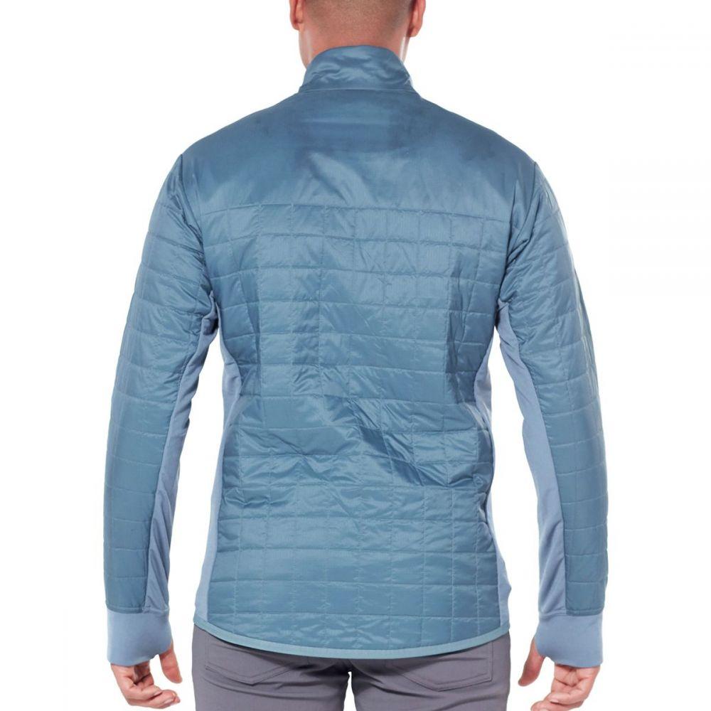 アイスブレーカー Icebreaker メンズ アウター ダウン・中綿ジャケット【Helix MerinoLoft Jackets】Granite Blue/Midnight Navy