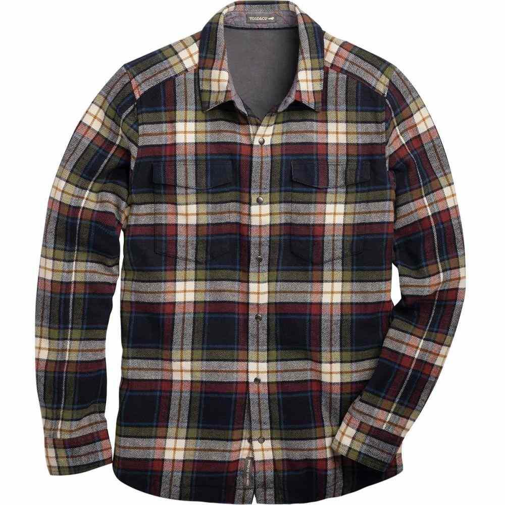 トードアンドコー Toad&Co メンズ トップス シャツ【Mojac Flannel Shirts】Nightsky