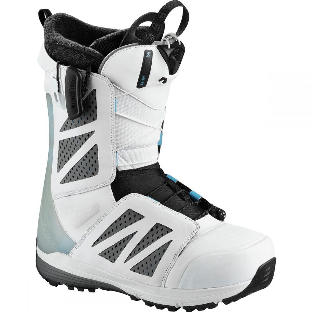 サロモン Salomon Snowboards メンズ スキー・スノーボード シューズ・靴【Hi Fi White Snowboard Boots】White