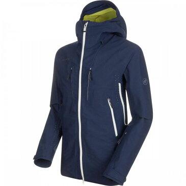 マムート Mammut メンズ スキー・スノーボード フード ジャケット アウター【SOTA HS Hooded Jacket】Peacoat
