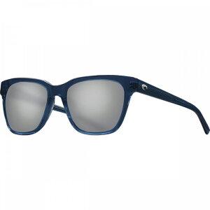 コスタ Costa レディース メガネ・サングラス 【Coquina 580G Polarized Sunglasses】Shiny Deep Teal Crystal Frame/Gray Silver Mirror 580G
