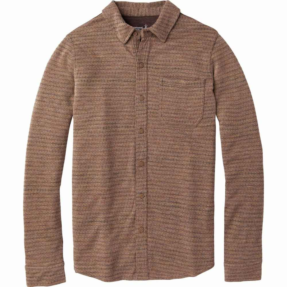 トップス, ワイシャツ  Smartwool Merino 250 Long - Sleeve ShirtBourbon Tick Stitch