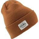 コール Coal Headwear メンズ ニット ビーニー 帽子【Uniform Beanie】Light Brown