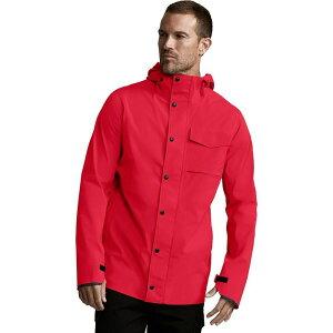 カナダグース Canada Goose メンズ レインコート アウター【nanaimo jacket】Red