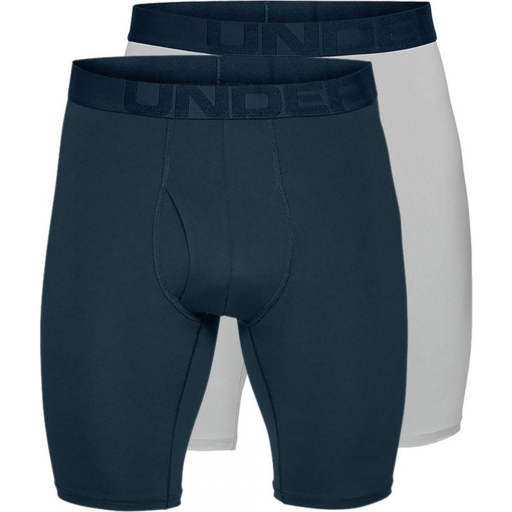 インナー・下着, トランクス  Under Armour Tech Mesh 9in Underwear - 2 - PackAcademyMod Gray