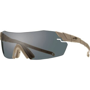 スミス Smith メンズ スポーツサングラス 【Pivlock Echo Max Elite Sunglasses】Tan /Clear Gray Ignitor