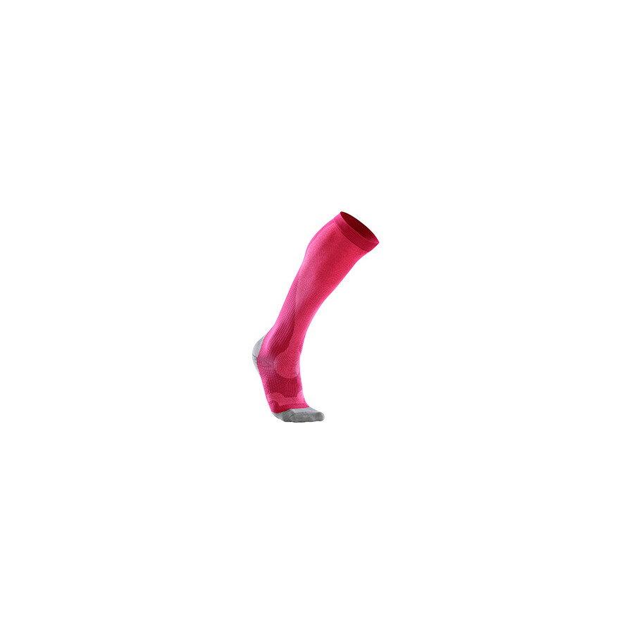 2XU 2XU レディース インナー ソックス【Compression Socks】Hot Pink/Grey