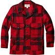 フィルソン Filson メンズ アウター ジャケット【Mackinaw Cruiser Alaska Fit Jacket】Red/Black