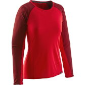 パタゴニア Patagonia レディース 登山 ウェア【Capilene Lightweight Crew Top】French Red