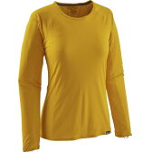 パタゴニア Patagonia レディース 登山 ウェア【Capilene Lightweight Crew Top】Sulphur Yellow