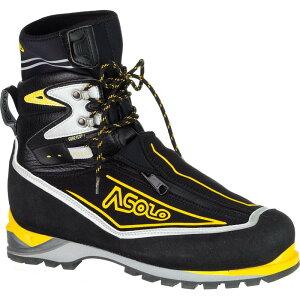 アゾロ Asolo メンズ ハイキング シューズ・靴【Eiger GV Mountaineering Boot】Black/Yellow
