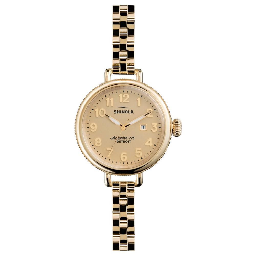 シャイノーラ Shinola レディース アクセサリー 腕時計【Birdy 34mm Bracelet Watch】Gold