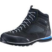 ホグロフス Hagl?fs メンズ ハイキング シューズ・靴【Roc Icon Hi GT Shoe】Magnetite/Vibrant Blue