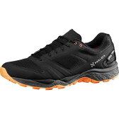 ホグロフス Hagl?fs メンズ ハイキング シューズ・靴【Gram Gravel GT Hiking Shoe】True Black/Tangerine