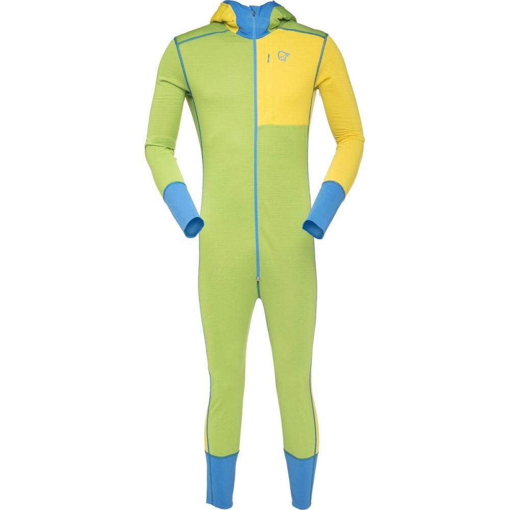 ノローナ Norr?na メンズ ハイキング ウェア【Super One-Piece】Mellow Yellow:フェルマート