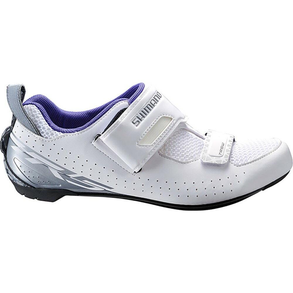 シマノ Shimano レディース トライアスロン シューズ・靴【SH-TR500 Cycling Shoe】White:フェルマート