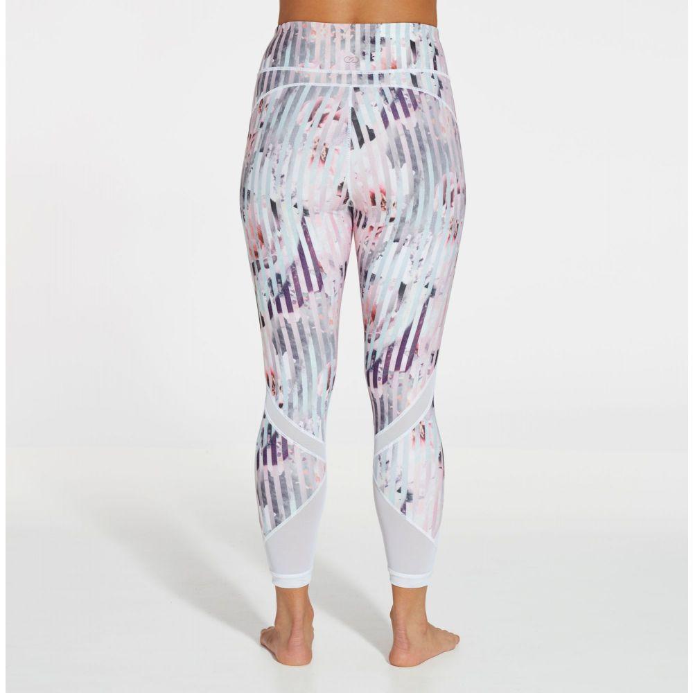 キャリー アンダーウッド CALIA by Carrie Underwood レディース インナー・下着 スパッツ・レギンス【Essential Printed Mesh 7/8 Leggings】Luster Stripe