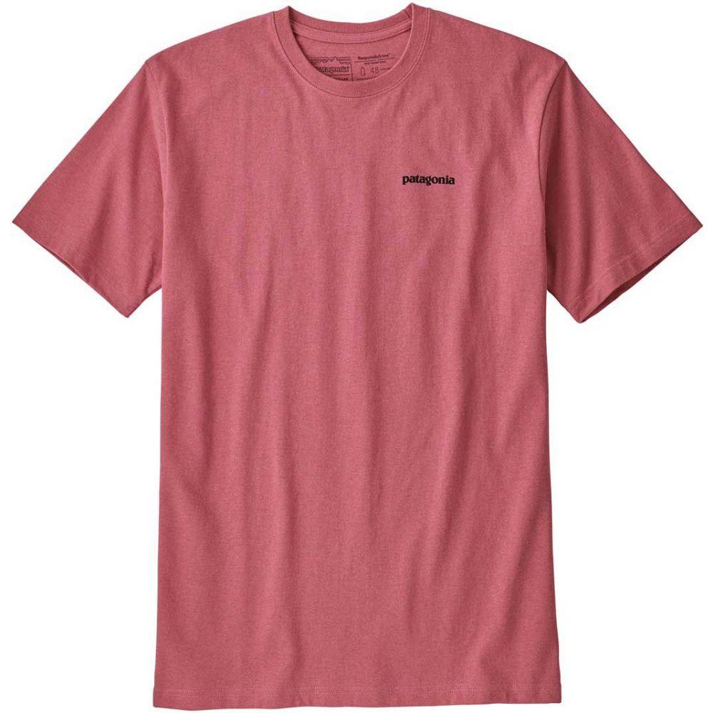 パタゴニア Patagonia メンズ トップス Tシャツ【P-6 Logo Responsibili-Tee T-Shirt】Sticker Pink