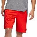 アディダス adidas メンズ フィットネス・トレーニング ショートパンツ ボトムス・パンツ【axis knit training shorts】Active Red