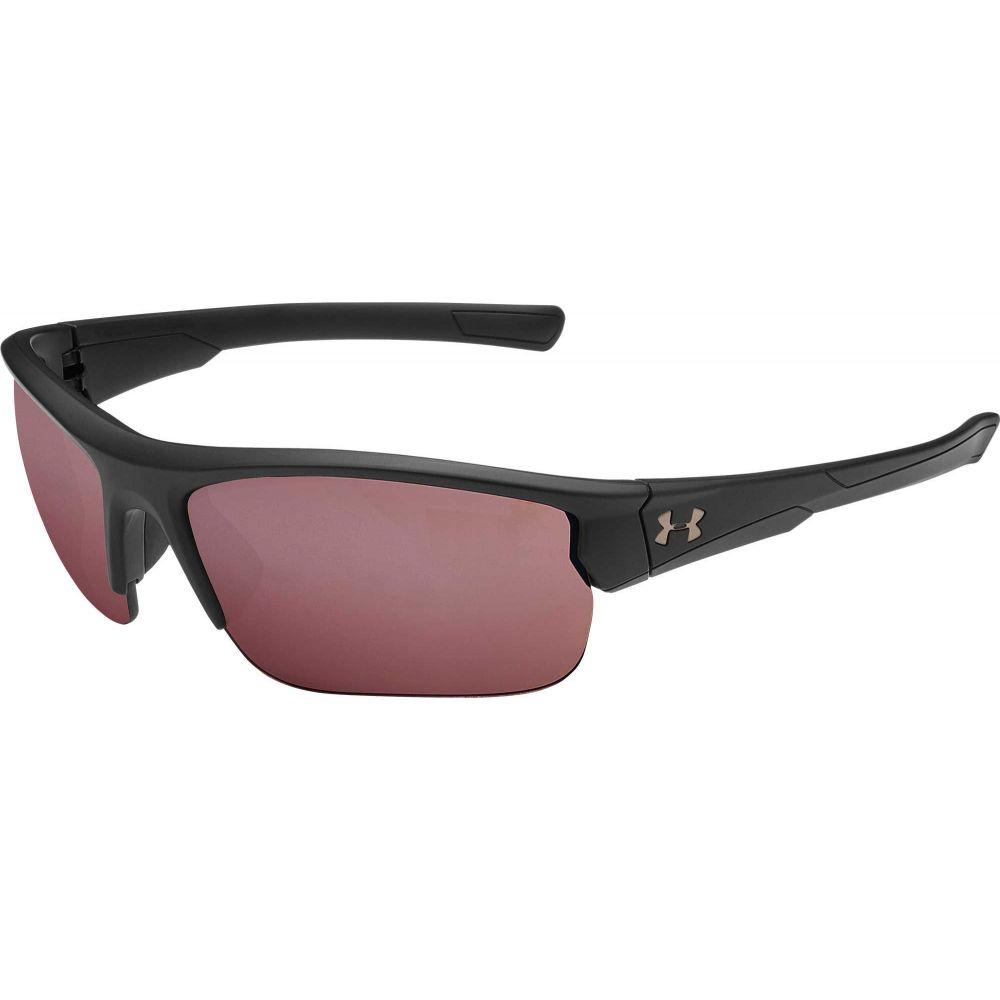 スポーツウェア・アクセサリー, スポーツサングラス  Under Armour Adult Propel Tuned Golf SunglassesSatin BlackGolf Lens
