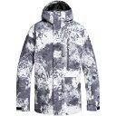 クイックシルバー Quiksilver メンズ アウター ジャケット【Mission Printed Snow Jacket】Castle Rock Splash