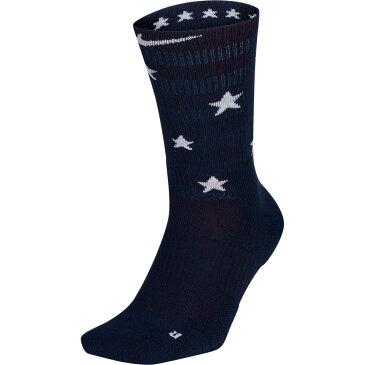 ナイキ Nike メンズ バスケットボール 【Elite Basketball Crew Socks】Midnight Nvy/Univ Red/Wht