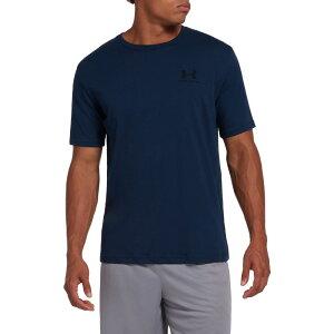 アンダーアーマー Under Armour メンズ Tシャツ トップス【Sportstyle Left Chest Graphic T-Shirt (Regular and Big & Tall)】Academy
