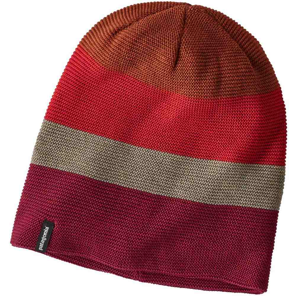メンズ帽子, ニット帽  Patagonia Glade BeanieHuck Stripe LinkStone Bl