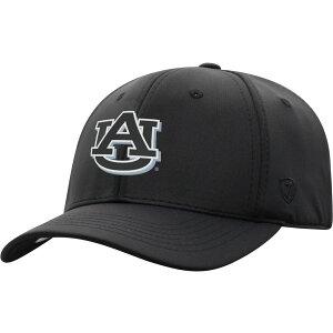 トップオブザワールド Top of the World メンズ キャップ 帽子【Auburn Tigers Phenom-Bob 1Fit Flex Black Hat】