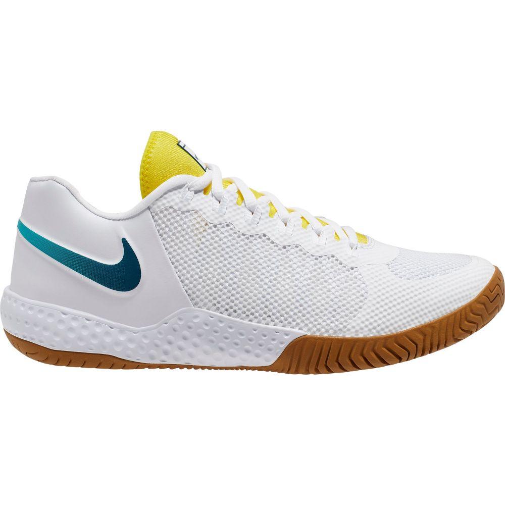 競技用シューズ, レディース競技用シューズ  Nike Court Flare 2 QS Tennis ShoesWhiteAqua