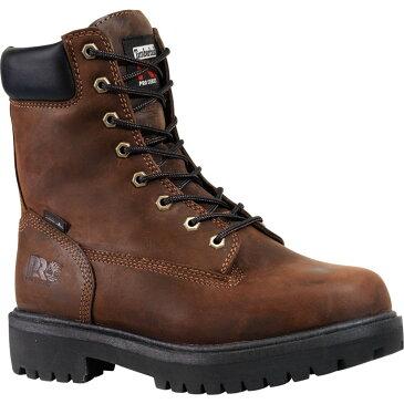 ティンバーランド Timberland メンズ ブーツ ワークブーツ シューズ・靴【PRO Direct Attach 8'' Waterproof 400g Work Boots】Brown