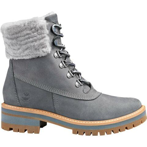 ティンバーランド Timberland レディース ブーツ シアリング ウインターブーツ シューズ・靴【Courmayeur Shearling Waterproof Winter Boots】Grey