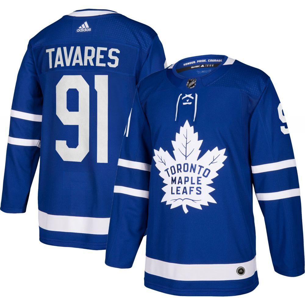 メンズファッション, その他  adidas Toronto Maple Leafs John Taveras 91 Authentic Pro Home Jersey